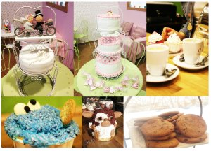 My sweet paradise cupcake